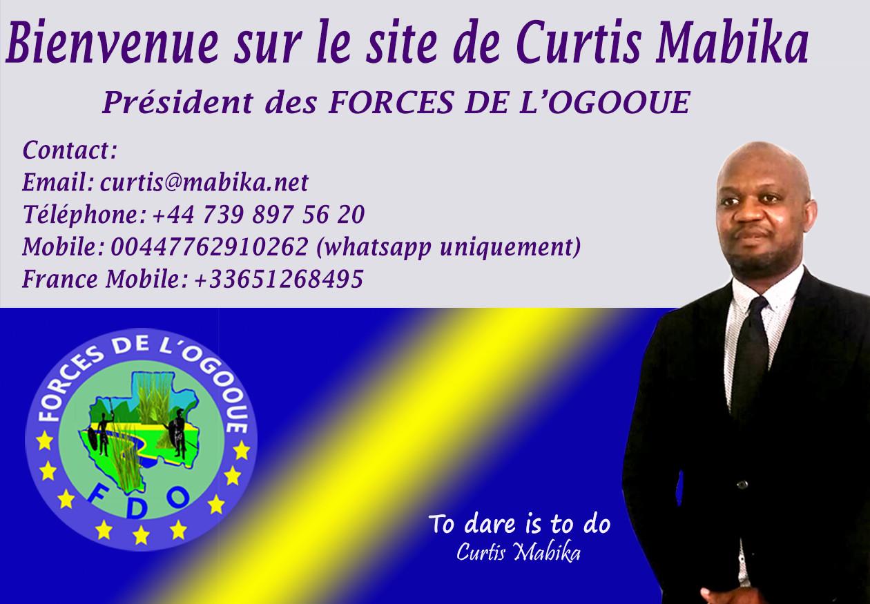 Pésident des FORCES DE L'OGOOUE